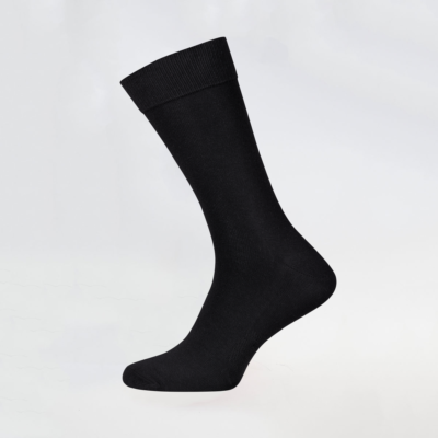 Classic Black Socks with Breathable area