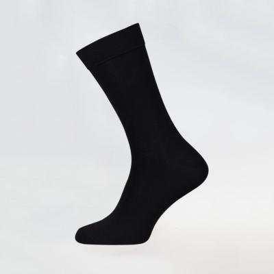 Men's Classic Black Bamboo Socks