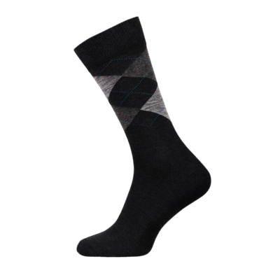Argyle Classic Men Socks Combed Cotton