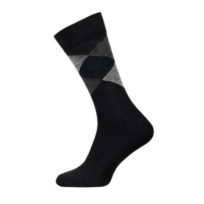 Argyle Classic Men Socks Combed Cotton