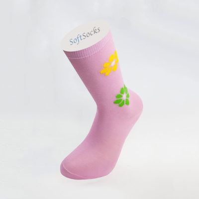 Women's Plain Patterned Socks