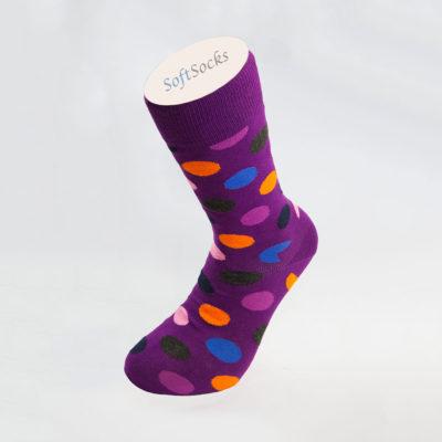 Women's Multicolor Plain Socks