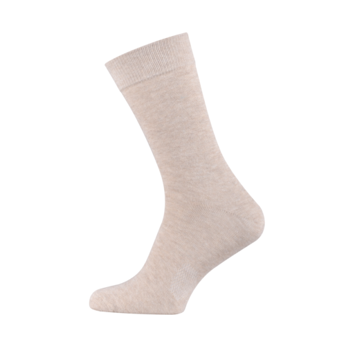 Classic Men's Socks Combed Melange Cotton Kahve