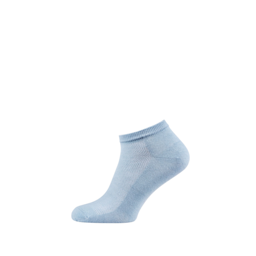 Breathable Ankle Socks for Men and Women Light Blue