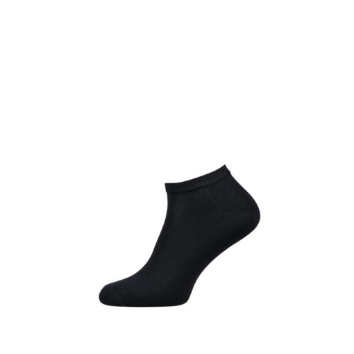 Breathable Ankle Socks for Men and Women Black