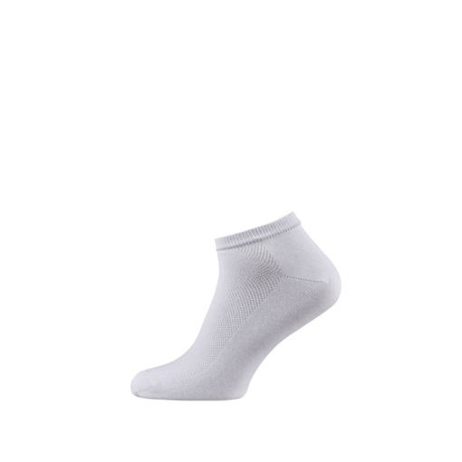 Breathable Ankle Socks for Men and Women White