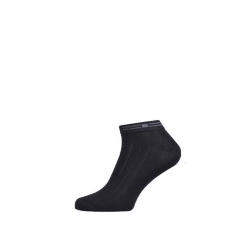 Cotton Ankle Socks for Men and Boys Black