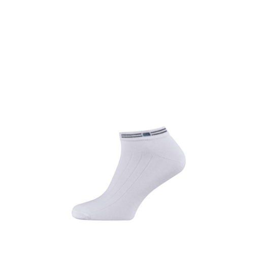 Cotton Ankle Socks for Men and Boys White
