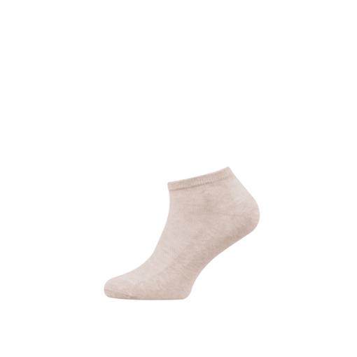 Breathable Women's Cotton Ankle Socks Kahve