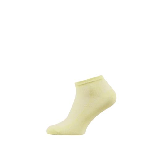 Breathable Women's Cotton Ankle Socks Lemon