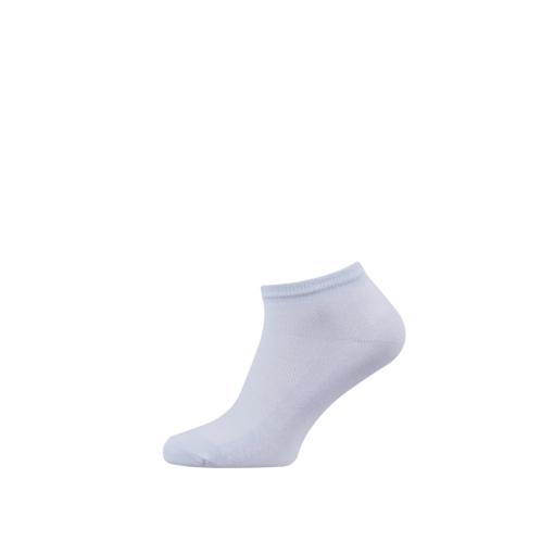 Breathable Women's Cotton Ankle Socks Light Blue