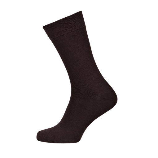 Mens Combed Cotton Socks Brown