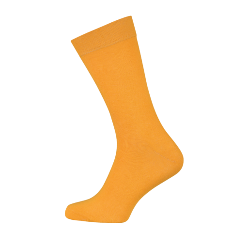 Mens Combed Cotton Socks Orange